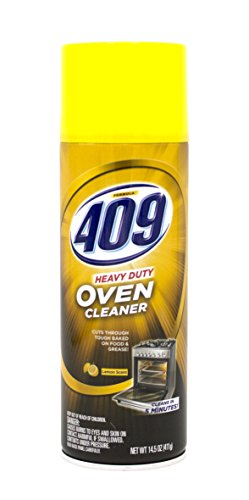 - 409 Heavy Duty Spray-On Oven Cleaner | Cuts Through Grease & Grime on Contact | A Powerful Clean You Can Trust, 14.5 oz, Lemon Scent