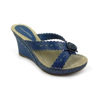 Hush Puppies Sarrola Damen Blau sandalen: : Schuhe
