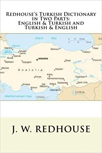 Book Redhouse's Turkish Dictionary in Two Parts: English & Turkish and Turkish & English
