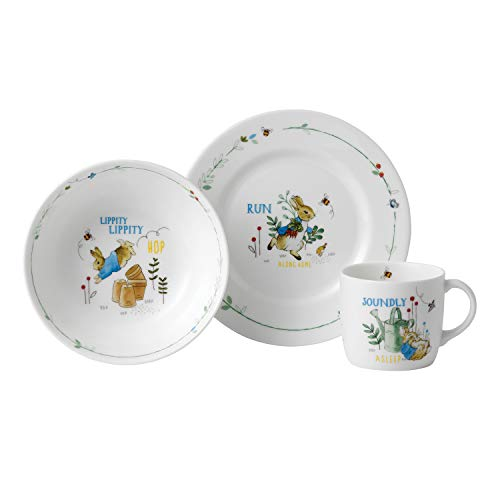 Wedgwood Peter Rabbit Boy's 3-Piece Set ()