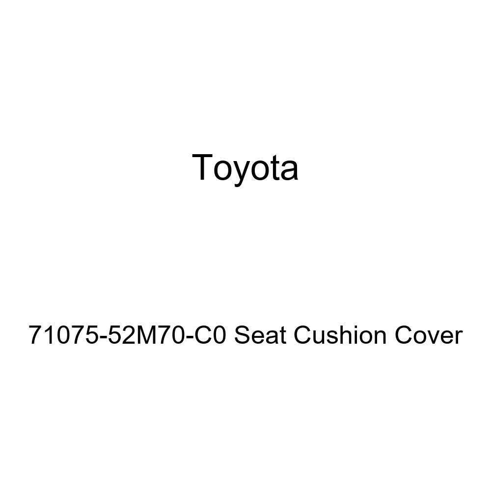 TOYOTA Genuine 71075-52M70-C0 Seat Cushion Cover