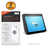 BoxWave Amazon Echo Show (2nd Gen) Screen Protector, [ClearTouch Anti-Glare (2-Pack)] Anti-Fingerprint Matte Film Skin for Amazon Echo Show (2nd Gen)