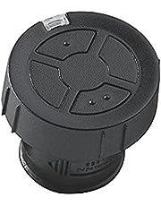 Hörmann Handzender HSZ2 868-BS, garagedeuropener met 2 toetsfuncties, afstandsbediening met BiSecur-radiotechnologie, zwart, art.nr. 436782