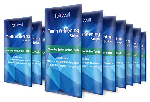 Teeth Whitening Strips Non-Slip Professional Teeth Whitener, 14 Treatments 28 strips, Removes Stains in 30 min, Safe for Enamel ()