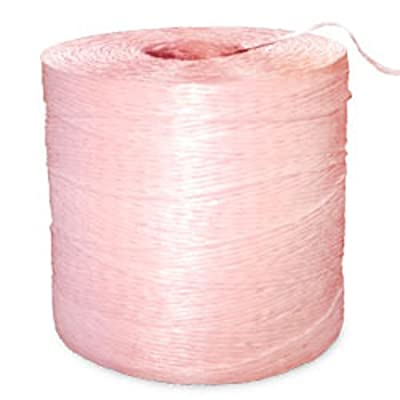 Polypro Tomato Twine - Pink - 1890' Ft/Lb, 65 lbs Tensile, 3# Tube (1 Tube) - CWC-031105 : Garden & Outdoor