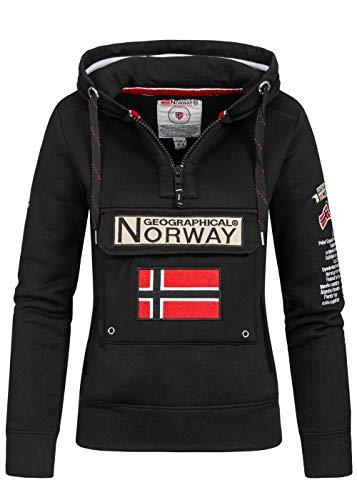 Geographical Norway Sweatshirt voor dames