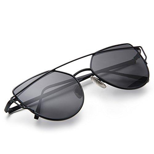 Multi Alliage Aroncent de Soleil Homme Noir Femme pour Polarisé choix Lunettes Eyewear et Classique Frame Verre f7fYw