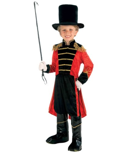 Forum Circus Ring Master Child Costume, Small/4-6 - Ringmaster Circus Costume