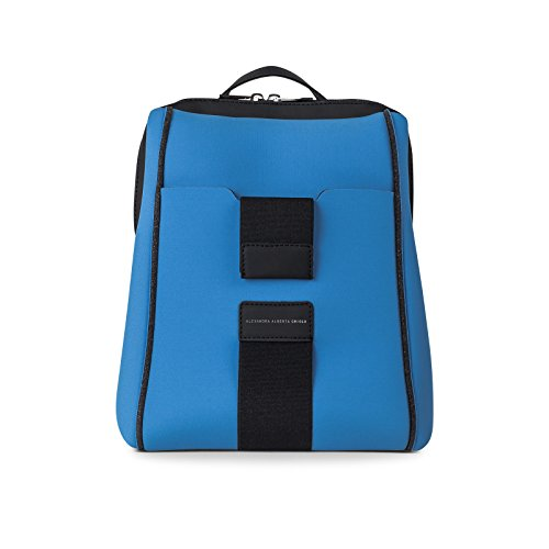 Lightweight Blue Princi Italy In Backpack Made Washable qv1E5U