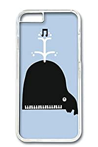 Custom Design Covers for iPhone 6 PC Transparent Case - Piano Do