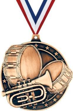 クラウンAwards Marching Band Medals – 2