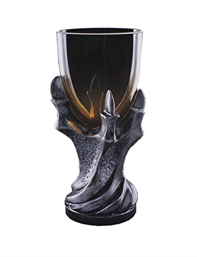 3D Dragon Claw Goblet , Personality Whiskey Resin Glass Goblet (Black) (Goblet)