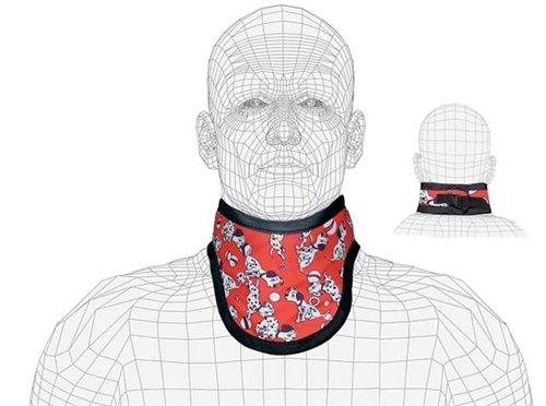 Lightweight Lead X-Ray Thyroid Collar, Pediatric Size, 0.5mm Pb, Buckle Closure