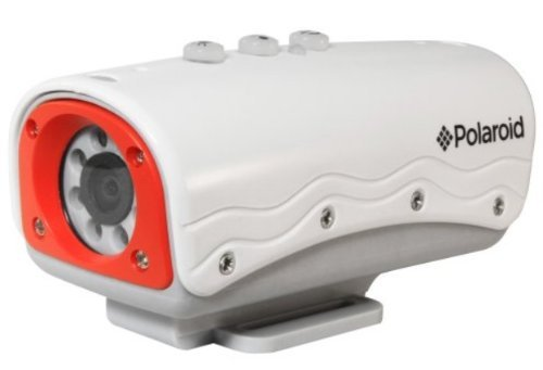 Polaroid XS20 HD 720p 5MP Waterproof Sports Action Camera with 8 LEDs, Mounting Kit Included Action Cameras Polaroid
