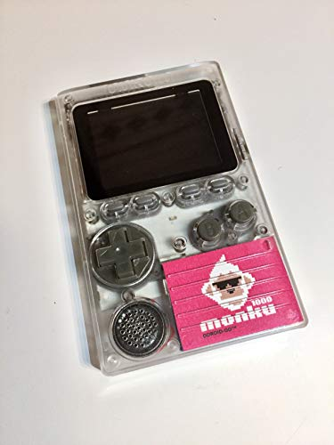 Assembled and Configured ODROID-GO Retro Gaming Handheld (Pink Decal)