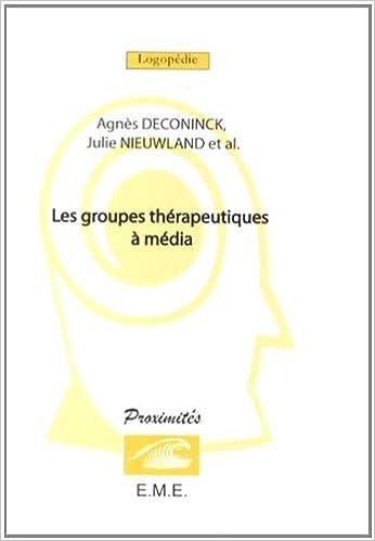 Livres gratuits Les groupes thérapeutiques à media pdf epub