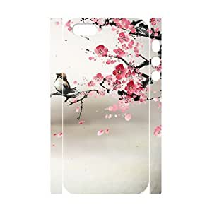 DIY Phone Case with Hard Shell Protection for Iphone 5,5S 3D case with Ink painting lxa#288255 by runtopwell