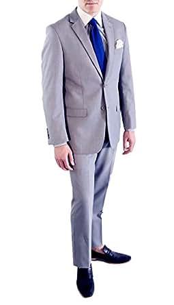 34S Ferrecci HART Light Grey Slim Fit 2pc Suit