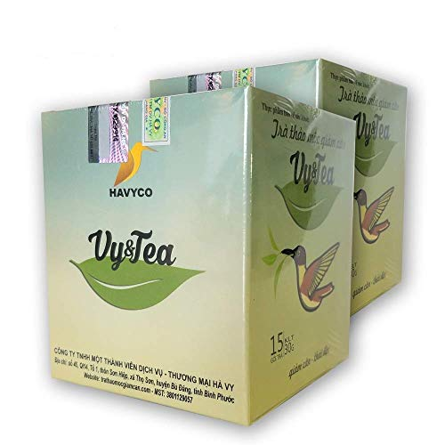- 2 box (30 pack - Use 30 days) Trà Thảo Mộc giảm cân Vy & Tea -Vy & Tea - natural herbal tea help weight loss, sleep deep and purifying the bod2