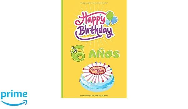 Amazon.com: 6 AÑOS: FELICIDADES! REGALO DE CUMPLEAÑOS ...