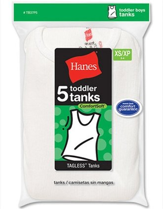 21a34625ae68dd Hanes Boys  Toddler Tank Top 5-Pack   TB37P5 - Buy Online in Oman ...