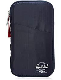 Travel Wallet, Navy/Red, One Size