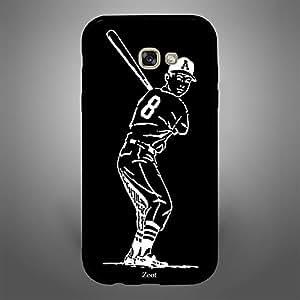 Samsung Galaxy A7 2017 Baseball BnW