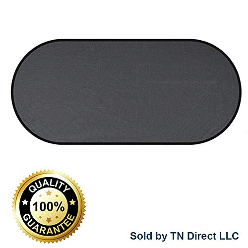 (COMFOBEE Upgraded Car Window Sun Shade No Suction Cups Needed - Block UV Rays from Sun - Skin Protection for Kids, Pets, and Humans - Keep Your Car Cool - Easy Installation (Rear))