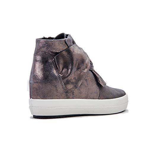 Grigio Donna 722 Sneaker Alto Collo Antracite a DSY IGI amp;CO nxg0w1qAaB