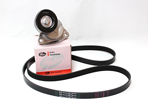 Price comparison product image V Belt for Chevy Chevrolet Aveo (6pk1875) with Belt Tensioner (Gates: 96349976) Parts: 96183108,  25183021,  96990678,  05482616,  96858746