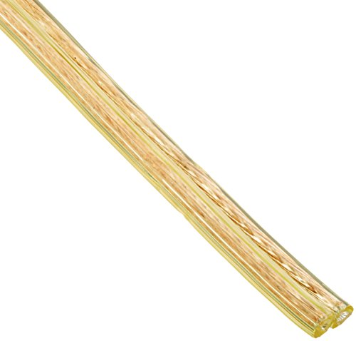 Southwire 55798121 25' 18/2 Gold Stranded Cu Lamp Wire, 42