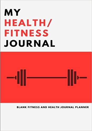 my health and fitness journal 2017 food diary and workout planner