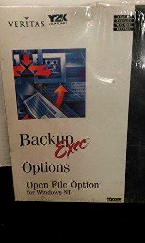 Symantec Backup Exec for NT 7.3 Open File Option