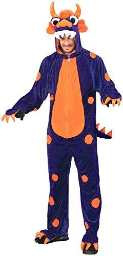 Forum Novelties Women's Monster Costume, Purple/Orange, Standard by Forum Novelties