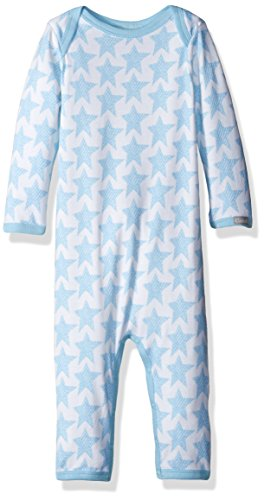 tars Jersey Knit Cotton/Modal Unionsuit, Blue, 6 Months ()