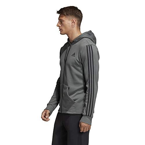 Veste Mh Fz Ft Blanc noir 3s Homme Adidas Ivwanxqdv