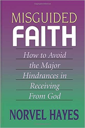 Amazon com: Misguided Faith (9780892744831): Norvel Hayes: Books