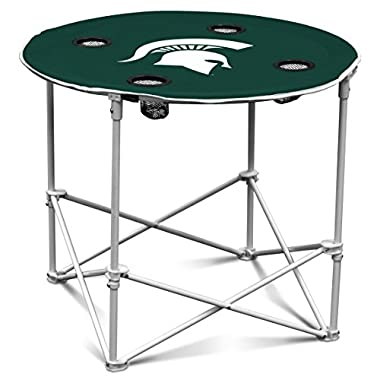 NCAA Michigan State Spartans Round Tailgating Table