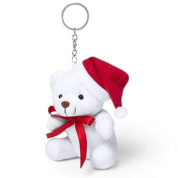 Lote de 20 Llaveros Peluche Navidad - Detalles baratos para Navidades
