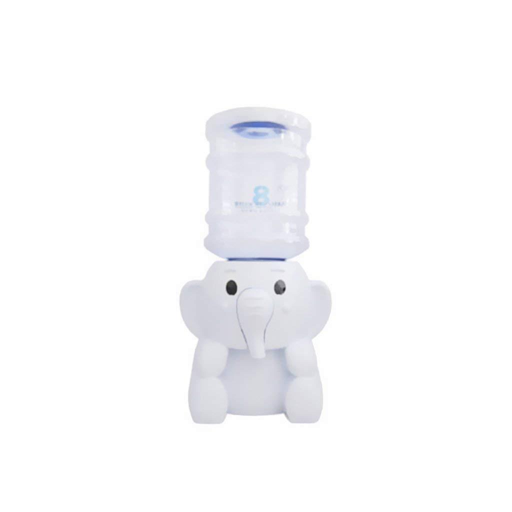 H&RB Elephant Water Dispenser Mini portabottiglie per Acqua refrigerata Multicolor – Bianco, 17x21cm Prezzi