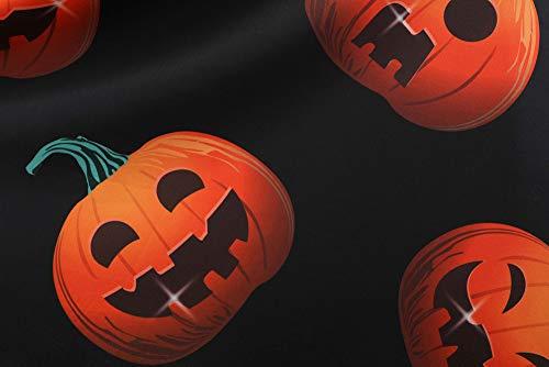 Partito donna elegante Swing Forti Prom Taglie Abito Zucca Halloween Manica di Dragon868 Costume Stampa Vestit Vestit Vintage Bianche 2XL Vestito lunga Zx4ET5wOq