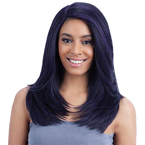 (Curly Wavy Wig for Women,Londony Hair Replacements Wigs Hair Wig Natural as Real Hair Daily Party Cosplay Costume Wigs)