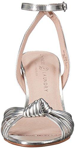 Metallic Sandal Silver Women Dress Laundry Selina Chinese 0Zw48qn