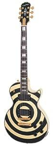 Epiphone Zakk Wylde Signature Les Paul Custom Electric Guitar, Bullseye