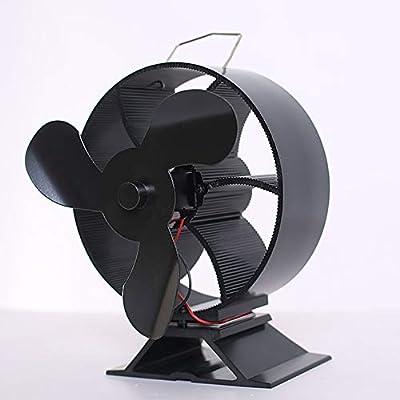 Ventilador para chimenea, 3 ventiladores, funcionamiento con calor ...