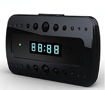 Agente007 - Reloj Despertador Espia Full Hd 1080P Deteccion De Movimiento Vision Nocturna: Amazon.es: Electrónica