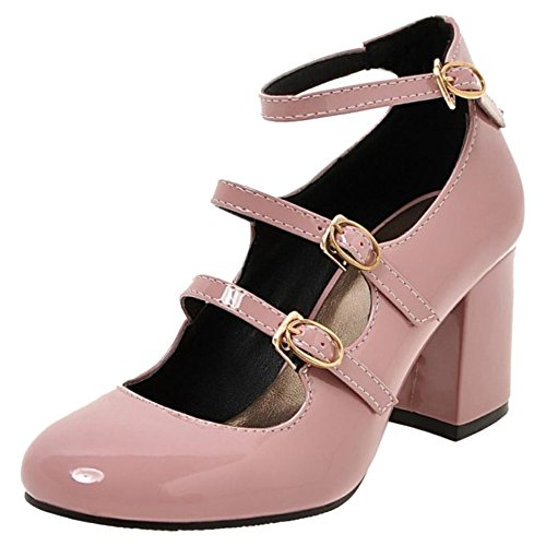 Court D Coolcept Alti Strappy Janes Donna Tacchi Block Shoes Mary Classico ZxRtH