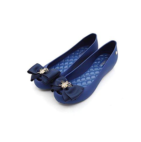 del Zapatos Zapatos Planos Baja la Mujeres de Playa la de Boca C Las Antideslizantes de Impermeables xttq0
