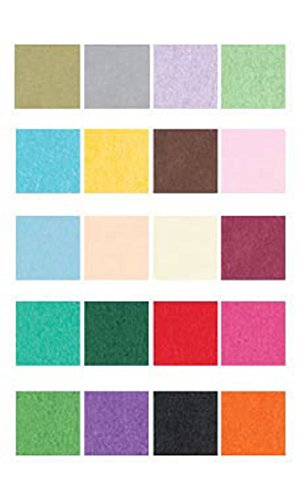 Grand Rainbow Tissue Paper Pack Of 480 Sheets by STORE001