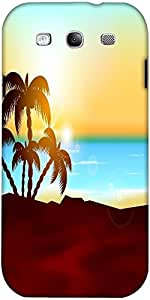 Snoogg Fondo Abstracto Verano Diseñador Protectora Volver Funda Para Samsung ...